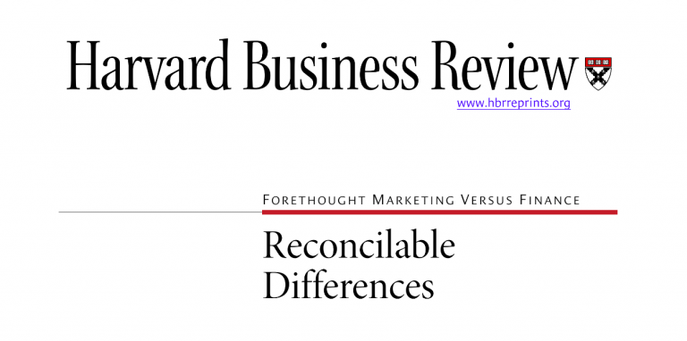 Type 2 Consulting - Published Article - Reconcilable Differences