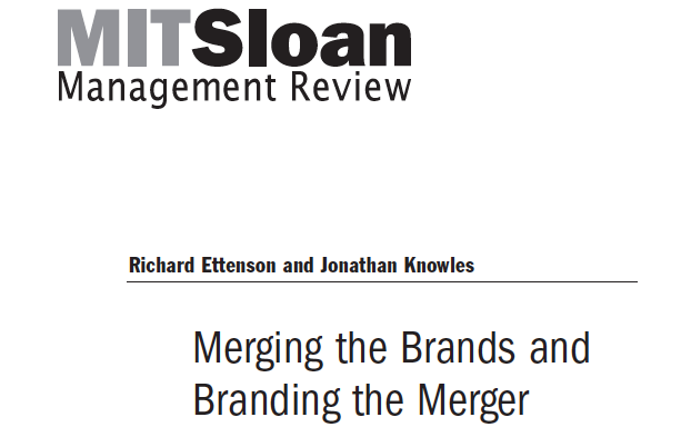 Type 2 Consulting - Merging the Brands & Branding the Merger